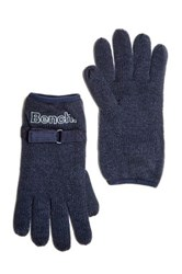 Bench Total Eclipse Knit Gloves Blue