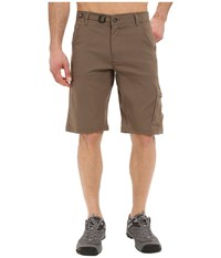 Prana Stretch Zion Short Mud Men's Shorts Taupe