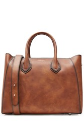Michael Kors Collection Leather Tote Brown