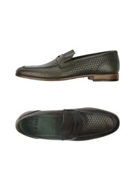 Fabi Footwear Moccasins Men Emerald Green
