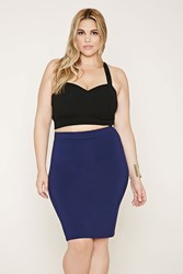 Forever 21 Plus Size Stretch Knit Skirt