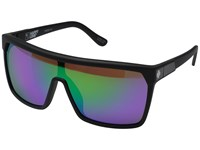Spy Optic Flynn Matte Black Happy Bronze W Green Spectra Sport Sunglasses Pink