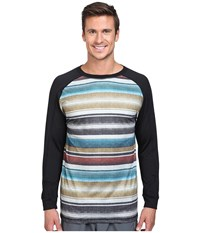 686 Frontier Base Layer Top Blanket Color Block Men's Clothing Multi
