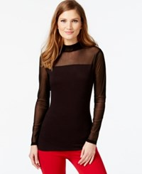Inc International Concepts Illusion Long Sleeve Top Only At Macy's