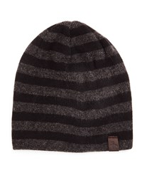 Penguin Ashmore Striped Beanie Hat True Blue