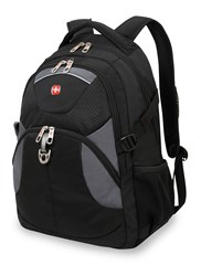 Wenger Laptop Black And Grey Backpack Black
