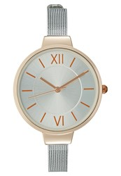Kiomi Watch Silvercoloured Rose Goldcoloured