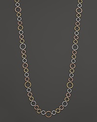 Charriol Modern Cable Mix Collection Nautical Necklace With Diamonds .01 Ct. T.W. No Color