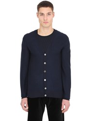 Ettore Bugatti Collection Cashmere V Neck Cardigan