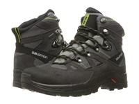 Salomon Discovery Gtx Detroit Autobahn Turf Green Men's Hiking Boots Black
