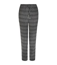 Joie Jourdanna Ikat Print Trousers Female Black