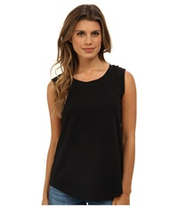 Alternative Apparel Cap Sleeve Crew Black Women's Sleeveless