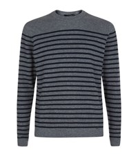 Paul Smith London Stripe Cashmere Sweater Male