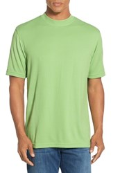 Men's Bugatchi Short Sleeve Crewneck T Shirt Green Apple