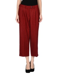 Stella Jean Casual Pants Red