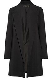The Row Russo Stretch Cady Blazer Black