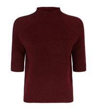 Theory Jodi Half Sleeve Jumper Female Red