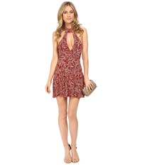 Clayton Aliza Dress Crimson Primrose Women's Dress Red