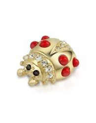 A Z Collection Ladybug Pin Gold