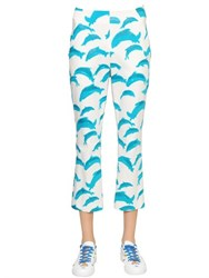 Tsumori Chisato Printed Cotton Blend Capri Pants