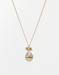 And Mary Necklace With Pineapple Locket
