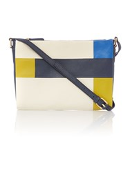 Dickins And Jones Taylor Crossbody Bag Multi Coloured Multi Coloured
