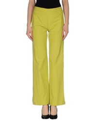 Caractere Casual Pants Acid Green