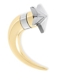 Single Small Star Shark Tooth Earring Givenchy Gold Silver