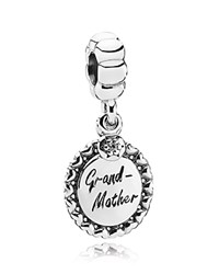 Pandora Design Pandora Dangle Charm Sterling Silver And Cubic Zirconia Grandmother Moments Collection