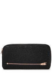 Alexander Wang Fumo Black Leather Continental Wallet