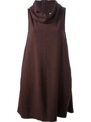 Societe Anonyme Loose Fit Dress Red