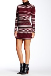 Romeo And Juliet Couture Printed Sweater Dress Multi