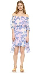 Diane Von Furstenberg Camila Two Dress Papillon Ombre Periwinkle