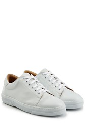 A.P.C. Leather Sneakers White