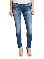 Mavi Jeans Serena Low Rise Super Skinny Jeans Medium Blue
