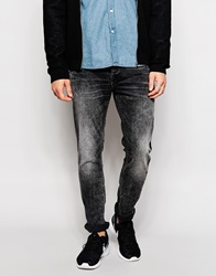 Only And Sons Acid Wash Black Jeans Washedblack