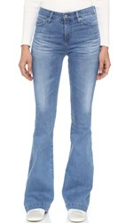 Ag Jeans The Janis High Rise Flare Jeans 15 Years Liberating Beat