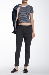 Level 99 Chino Cropped Pant Gray