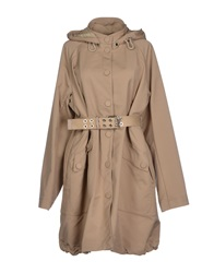 High Full Length Jackets Khaki