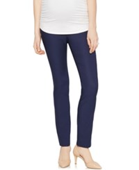 A Pea In The Pod Skinny Maternity Pants Navy