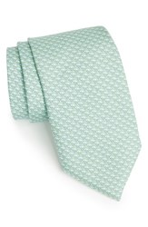 Men's Vineyard Vines 'Whale' Silk Tie Green