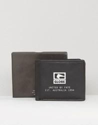Globe Corroded Wallet Black