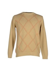 Henry Cotton's Knitwear Jumpers Men Sand