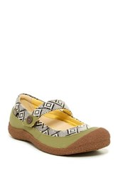 Keen Harvest Mj Button Mary Jane Green