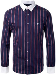 Loveless Striped Shirt Blue