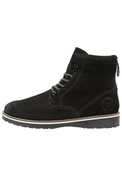 Superdry Stirling Laceup Boots Black