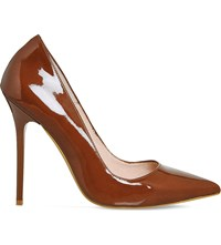 Office Onto Patent Leather Courts Cocoa Patent Leather