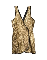 Heimstone Short Dresses Gold