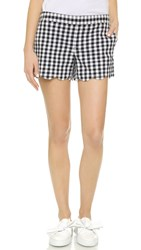 Club Monaco Amber Shorts Navy White