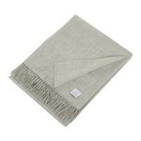 Yves Delorme Triomphe Throw Silver